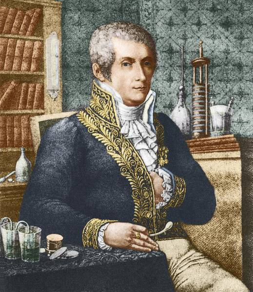 Voltaic Pile Photograph - Alessandro Volta, Italian Physicist by Sheila Terry