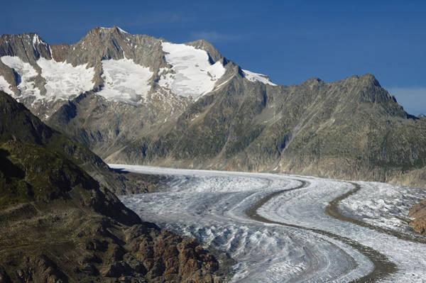Photograph - Aletsch Glacier Switzerland by Matthias Hauser