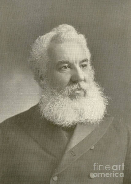 Tele Photograph - Alexander Graham Bell by Science Source