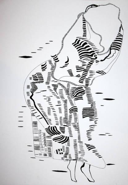 Drawing - Algerian Dance by Gloria Ssali
