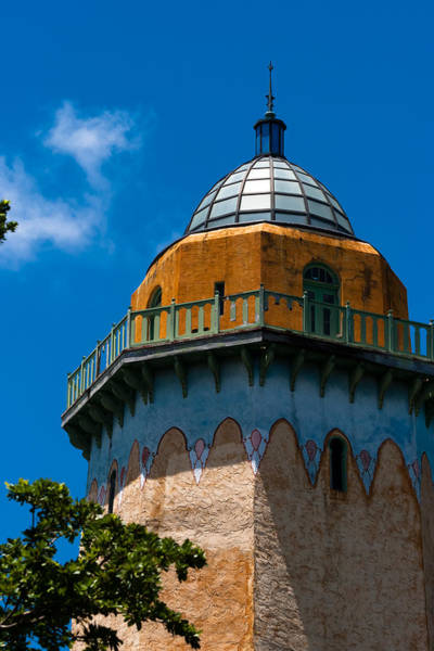 Photograph - Alhambra Water Tower Colors by Ed Gleichman