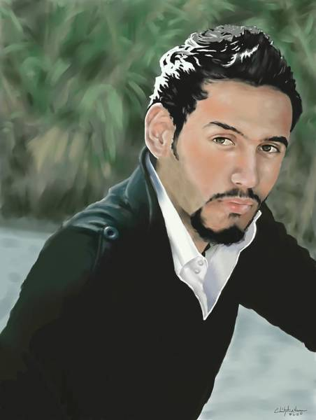 Baghdad Painting - Ali by Christopher A Newman