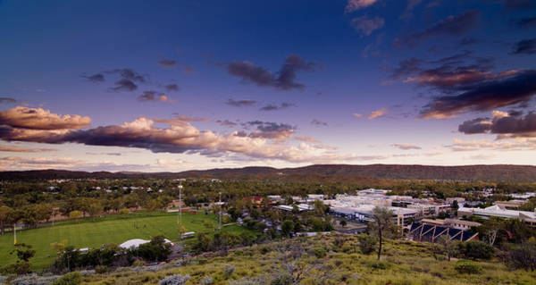 Photograph - Alice Springs At Sunset by Paul Svensen