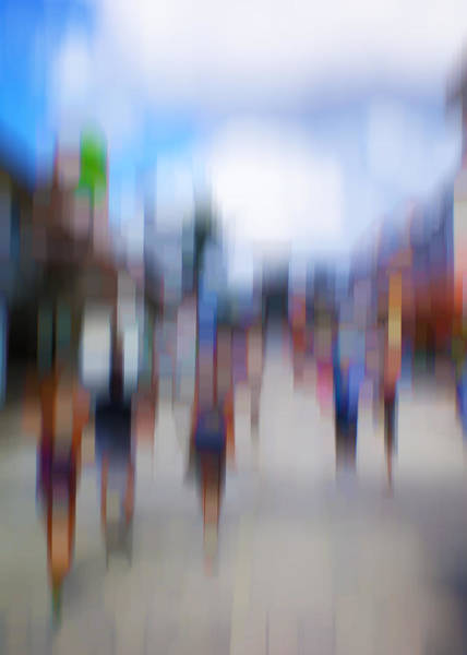 Photograph - Alive In The City 12 - The Tourists by Robin Webster