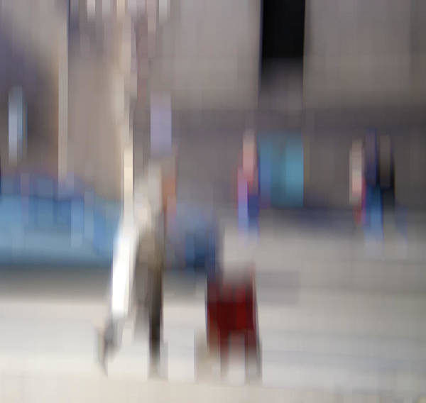 Photograph - Alive In The City 5 - Going Shopping by Robin Webster