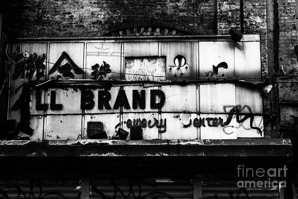 Wall Art - Photograph - All Brand by John Farnan