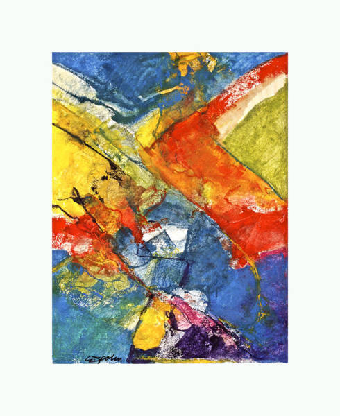 Painting - All In Bed Dead In Ice  --start- by Cliff Spohn