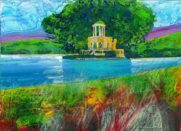 River Scene Mixed Media - All The Gods II by David Bates