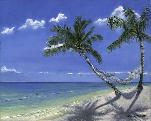 Wall Art - Painting - All The Pretty Beaches by Lisa Reinhardt