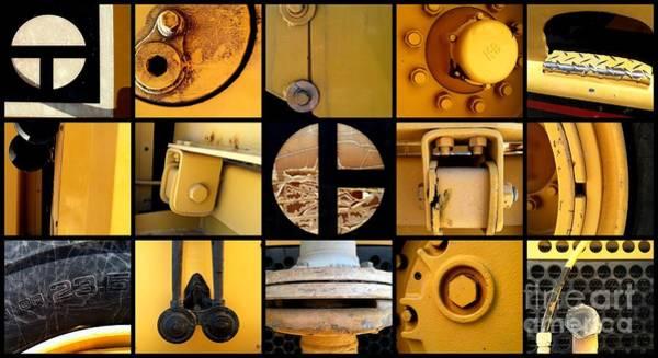Photograph - All Things Bulldozer by Marlene Burns