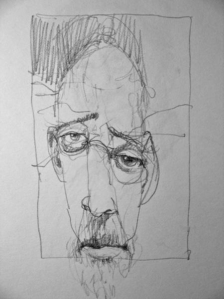 Drawing - Almost Finished - Literally And Figuratively  by Cliff Spohn