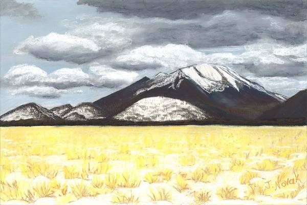 Flagstaff Painting - Almost To Flagstaff by Jackie Novak