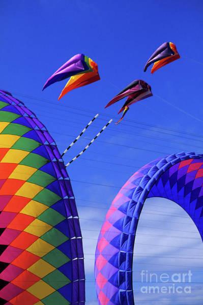 Kite Festival Wall Art - Photograph - Go Fly A Kite 8 by Bob Christopher