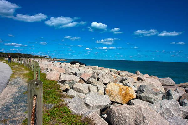 Fisher Island Photograph - Along The Coast by Betsy Knapp