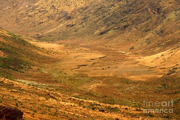 Mount Moran Photograph - Along The Moorland by Aidan Moran