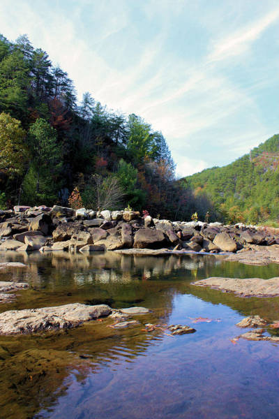Ocoee Wall Art - Photograph - Along The Ocoee by Kristin Elmquist