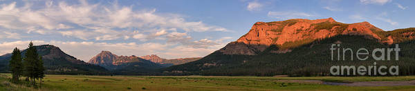 Photograph - Alpenglow -- Lamar Valley by Charles Kozierok