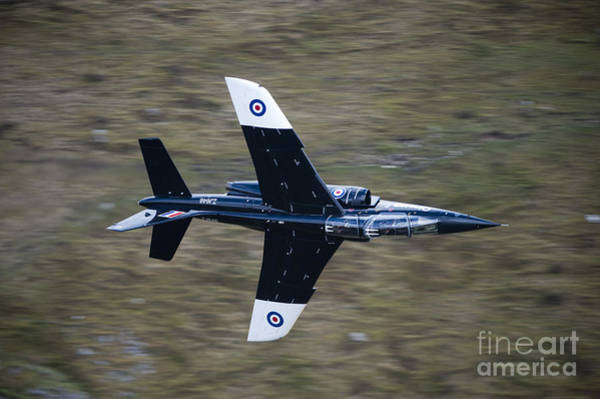 Mach Loop Photograph - Alpha Jet Of The Royal Air Force Low by Andrew Chittock