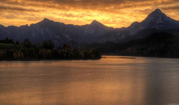 Photograph - Alps Sunrise by Ryan Wyckoff