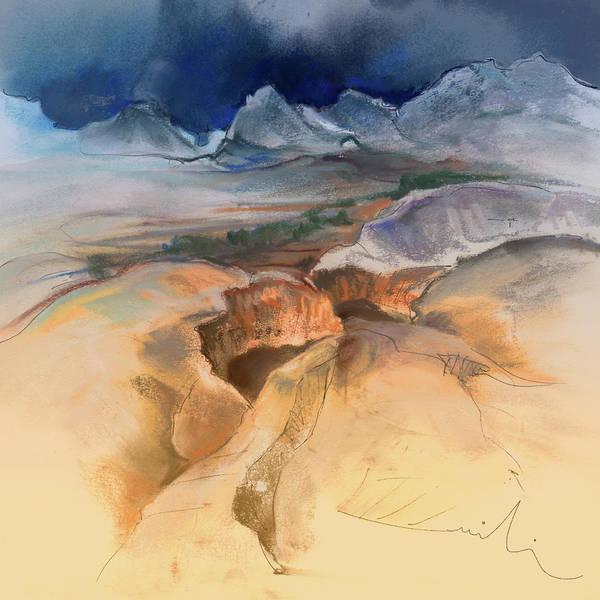 Benidorm Wall Art - Painting - Altea La Vieja In Spain 14 by Miki De Goodaboom