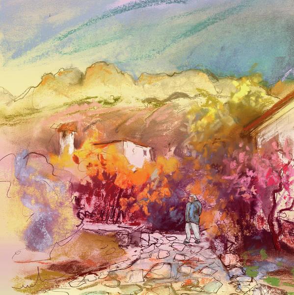 Benidorm Wall Art - Painting - Altea La Vieja In Spain 15 by Miki De Goodaboom