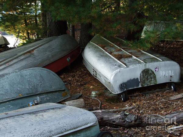 Photograph - Aluminum Boats Photograph by Kristen Fox