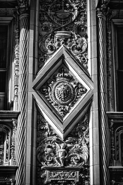Photograph - Alwyn Court Building Detail 1 by Val Black Russian Tourchin