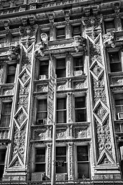 Photograph - Alwyn Court Building Detail 15 by Val Black Russian Tourchin