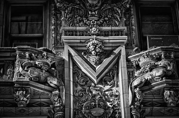 Photograph - Alwyn Court Building Detail 16 by Val Black Russian Tourchin
