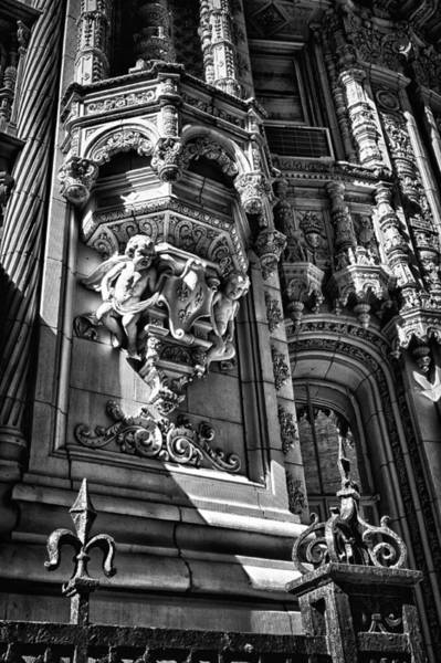 Photograph - Alwyn Court Building Detail 17 by Val Black Russian Tourchin