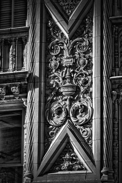 Photograph - Alwyn Court Building Detail 2 by Val Black Russian Tourchin