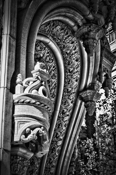 Photograph - Alwyn Court Building Detail 21 by Val Black Russian Tourchin