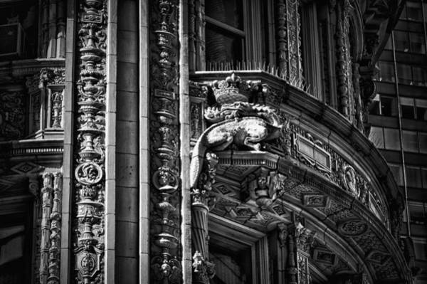 Photograph - Alwyn Court Building Detail 22 by Val Black Russian Tourchin