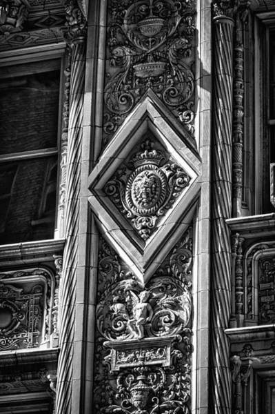 Photograph - Alwyn Court Building Detail 23 by Val Black Russian Tourchin