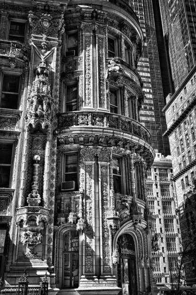 Photograph - Alwyn Court Building Detail 25 by Val Black Russian Tourchin