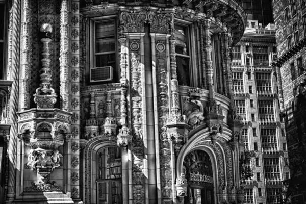 Photograph - Alwyn Court Building Detail 27 by Val Black Russian Tourchin