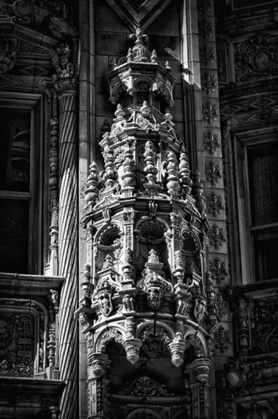 Photograph - Alwyn Court Building Detail 28 by Val Black Russian Tourchin