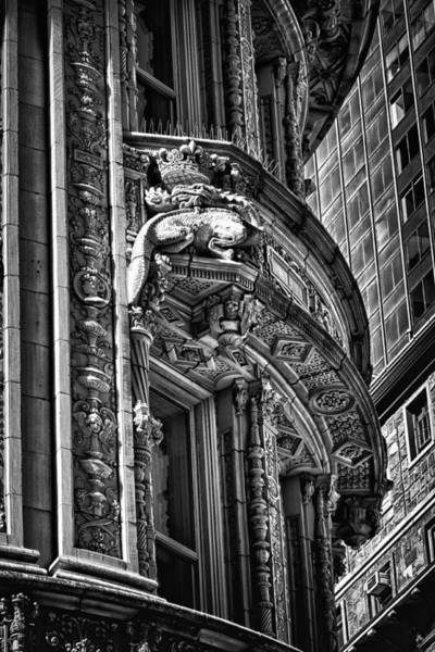 Photograph - Alwyn Court Building Detail 29 by Val Black Russian Tourchin