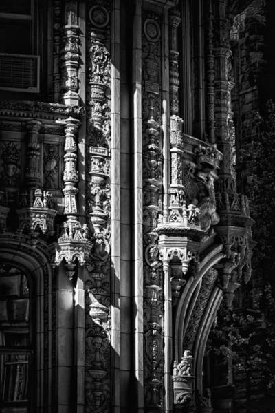 Photograph - Alwyn Court Building Detail 32 by Val Black Russian Tourchin