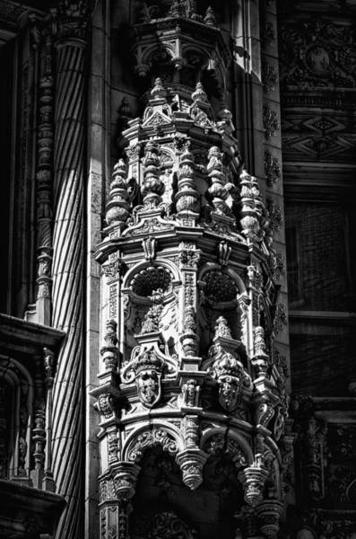 Photograph - Alwyn Court Building Detail 33 by Val Black Russian Tourchin