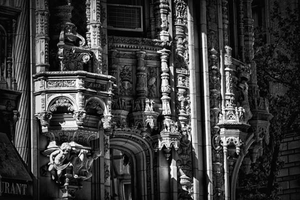 Photograph - Alwyn Court Building Detail 35 by Val Black Russian Tourchin