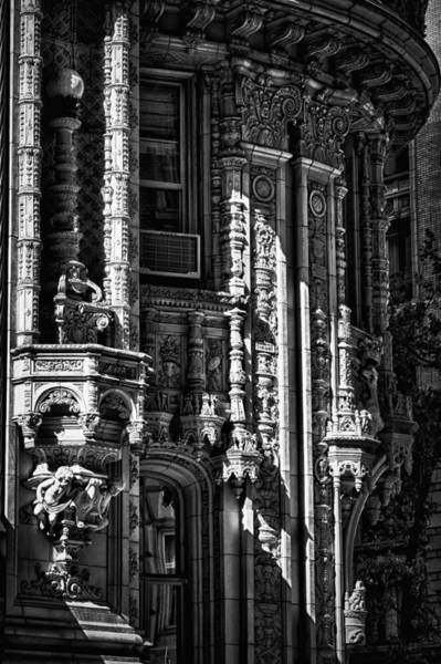 Photograph - Alwyn Court Building Detail 36 by Val Black Russian Tourchin