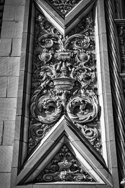 Photograph - Alwyn Court Building Detail 7 by Val Black Russian Tourchin