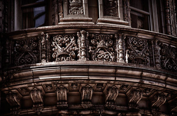Photograph - Alwyn Court Building Detail by Val Black Russian Tourchin