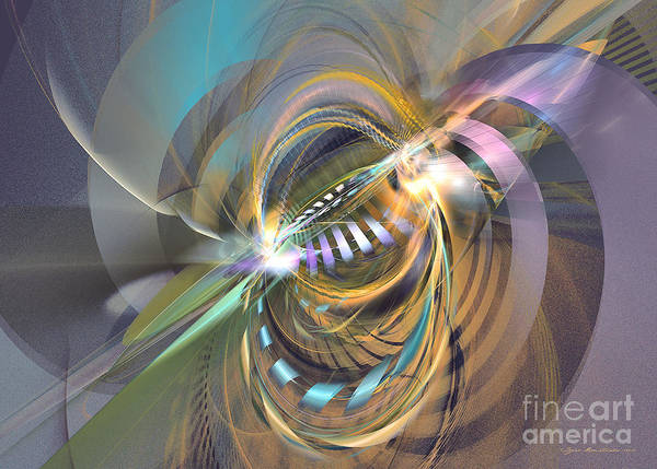 Digital Art - Amadeus - Abstract Art by Sipo Liimatainen