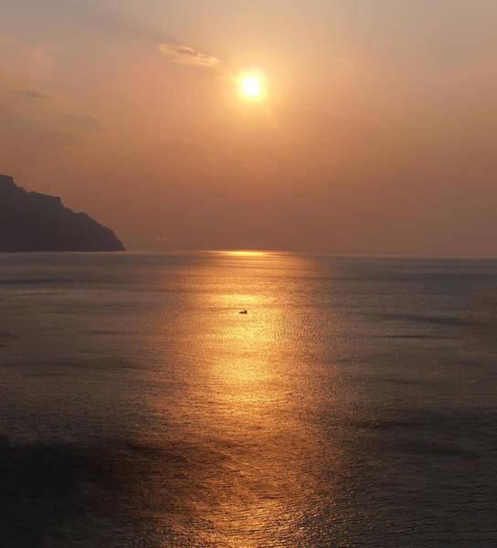 Photograph - Amalfi Sunset by Bill Cannon