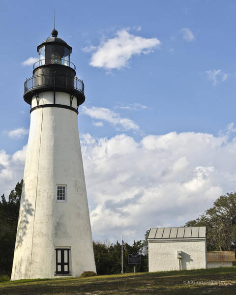 Photograph - Amelia Island Lighthouse by Mike Fitzgerald