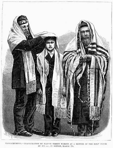 Membership Photograph - American Judaism, 1877 by Granger