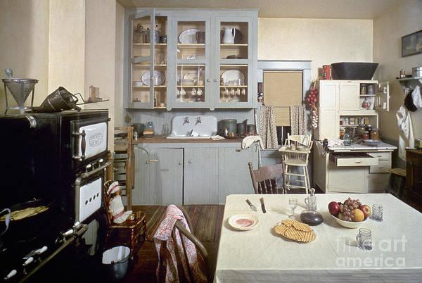 Italian Immigrants Wall Art - Photograph - American Kitchen by Granger