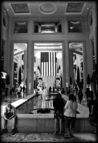 Sin Photograph - American Palazzo by Ricky Barnard